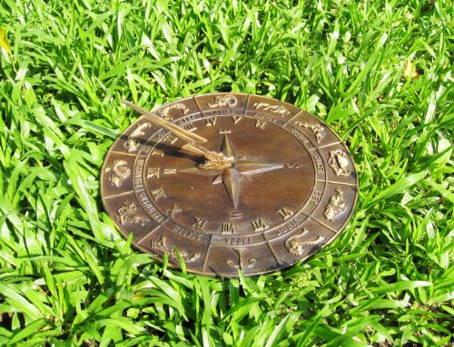 Brass Constellations Sundial - 12'' inches wide by Taiwan (Image #1)