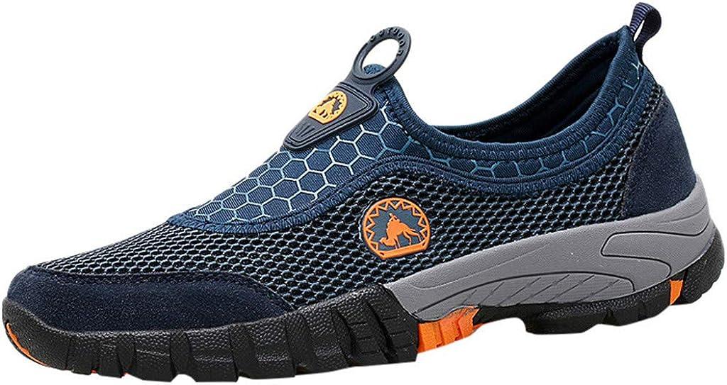 Sencillo Vida Zapatillas de Running para Hombre Sneakers de Cordones Zapatillas de Deporte Unisex Adulto Transpirables Zapatos Casuales Hombres para Correr Gimnasio Senderismo Aire Libre: Amazon.es: Zapatos y complementos