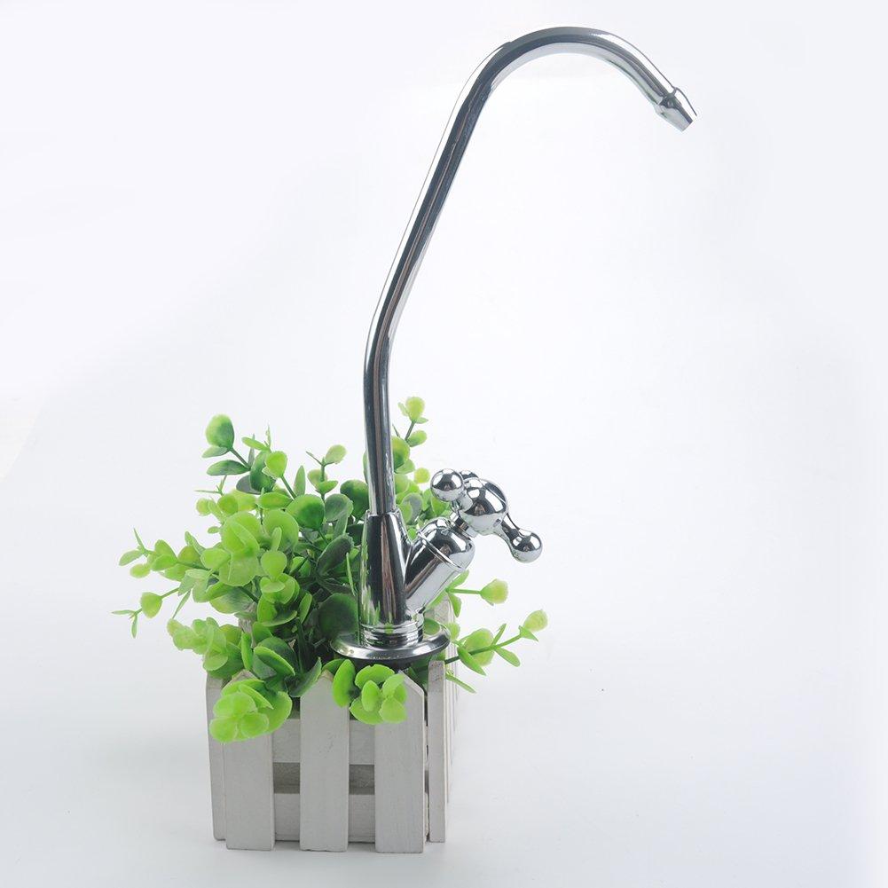 OSISTER7 in lega di zinco finitura acqua filtro rubinetto dell' acqua potabile maniglia rotante
