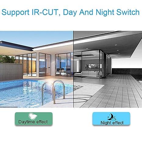 Cámara de vigilancia de 720p, Full HD, impermeable, resistente al ...