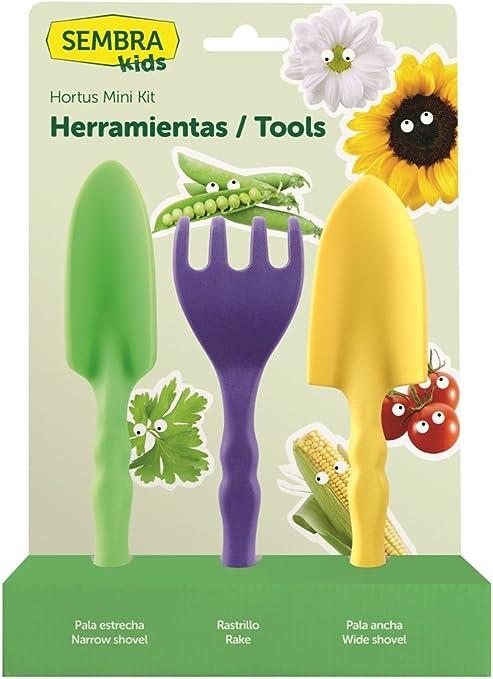SEMBRA - juego educativo, Kit huerto Herramientas: Amazon.es: Jardín