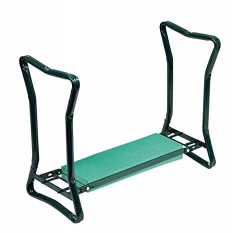 Marvelous Portable Folding 2 In1 Garden Kneeler With Handles And Foam Padded Seat Bench Uwap Interior Chair Design Uwaporg