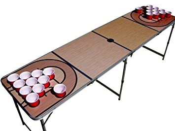 the pong squad basketball beer pong table with holes pong games rh amazon ca beer pong tables for sale beer pong tables custom
