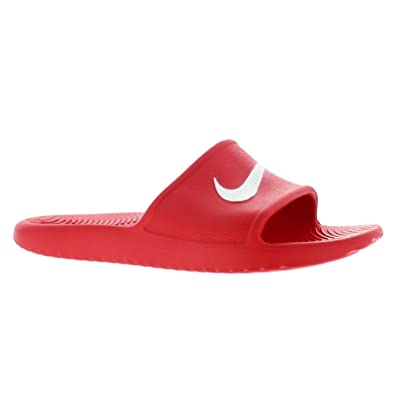 bbb2891c0 Amazon.com | NIKE 832528-600: Mens Kawa Shower Synthetic Sandals Red (6  D(M) US) | Slippers