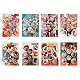 Raleighsee 8 Pcs/Set One Piece Various Anime