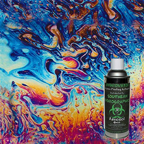 Hydrographics Film - Hydro Dip Film - Hydro Dip Kit - Hydrographic Film - Water Transfer Printing - Hydro Dipping - 6oz. Activator with Oil Slick Kit