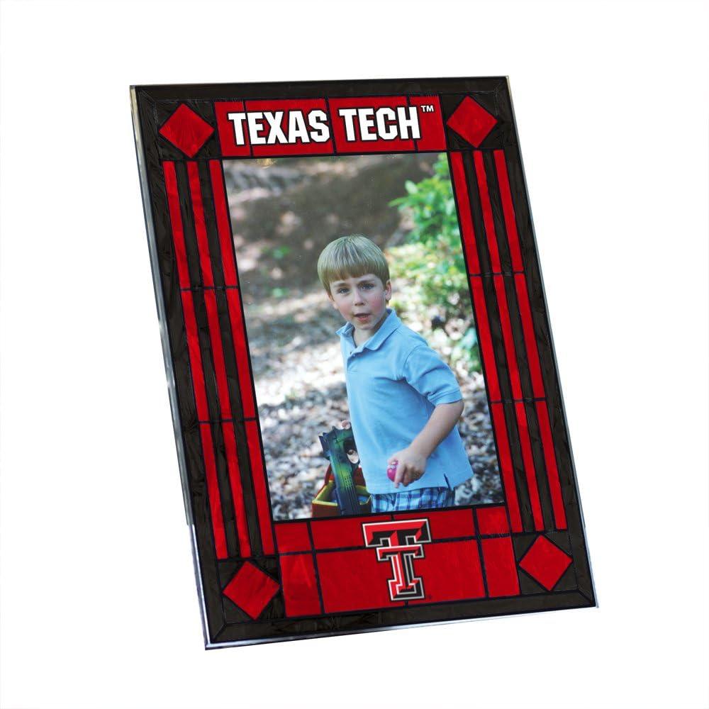 Texas Tech Art Glass Frame