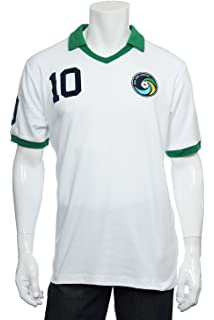 2b1aed5f6 Umbro New York Cosmos 1977 Pele  10 green away shirt retro football ...