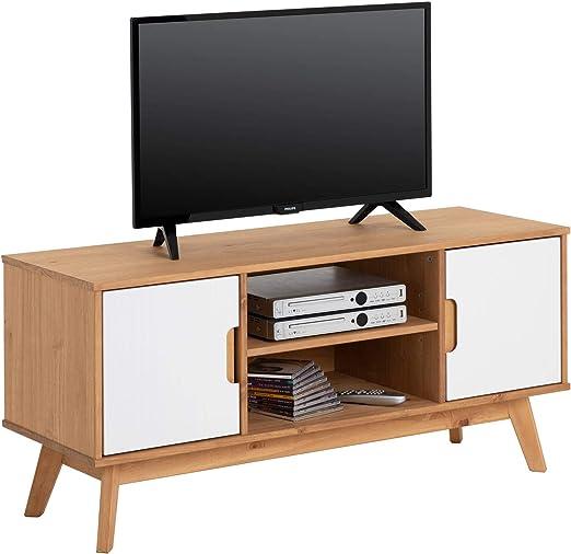 IDIMEX – Mueble TV Tivoli Banco Télé de 114 cm AU Estilo ...
