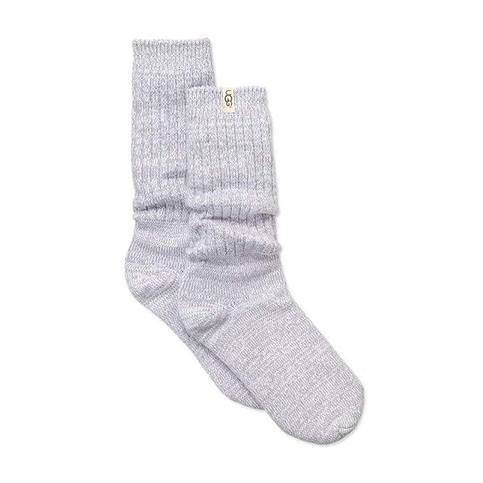 UGG Calcetines Slouchy Crew Socks Seal Sock de punto de mujer: Amazon.es: Ropa y accesorios