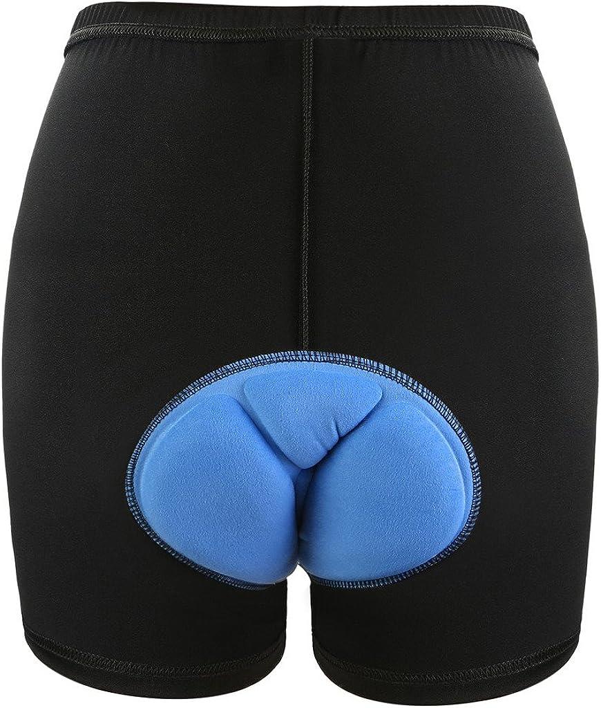 Blau XXXL NONMON Radsports Shorts Damen,3D Gel Gepolstert Herren Frauen Radunterhose Radfahren Reiten Atmungsaktiv Unterw/äsche Kurze Boxer Shorts