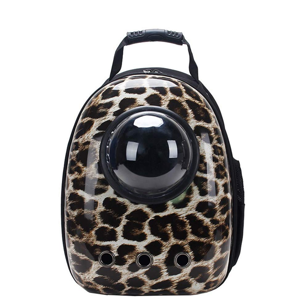 F Pet Carrier Backpack AntiEscape Cat Carrier Backpack Dog Travel Carriers Space Capsule Bubble Backpack Carriers for Small Dogs