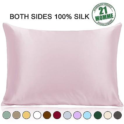 Amazon.com: Ravmix - Funda de almohada de seda para el pelo ...
