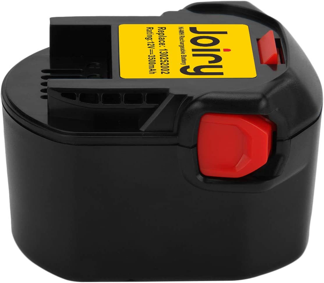 Joiry 3.5A 12V Ni-MH Battery for Ridgid Power Tools 130252002 Rechargeable Replacement Batteries
