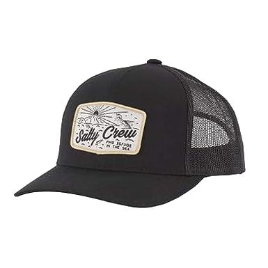 best sneakers cd2e0 91f6e Salty Crew Men s Frenzy Retro Trucker Hat, Black (Black BLK), One