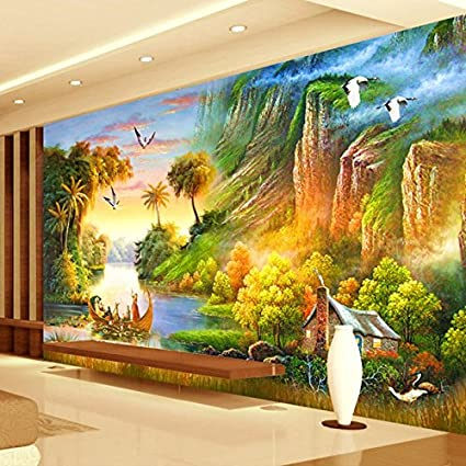 Leegt Personalizar Cualquier Tamaño 3D Wall Mural Wallpaper ...