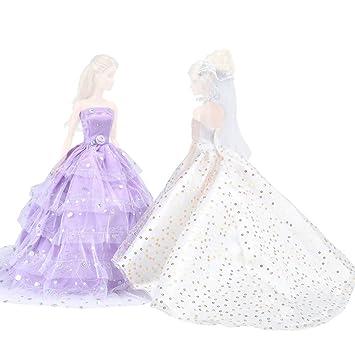 E Ting Hochzeitskleid Cinderella Hochzeit Floral Kleid Spitzenkleid