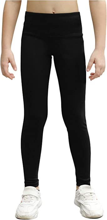 Amazon.com: STELLE Girls Active Legging Athletic Dance Workout Running Yoga  Pants with Side Pocket: Clothing