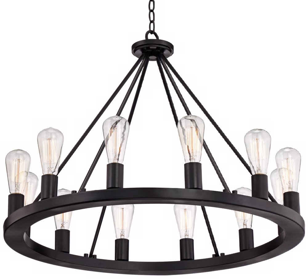 Lacey 28 wide round black chandelier amazon aloadofball Images