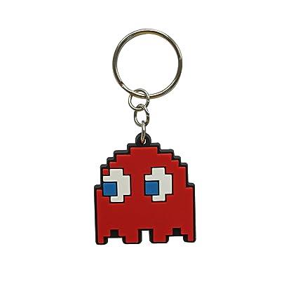 Pac-Man - Ghost PVC Keyring [Importación inglesa]: Amazon.es ...