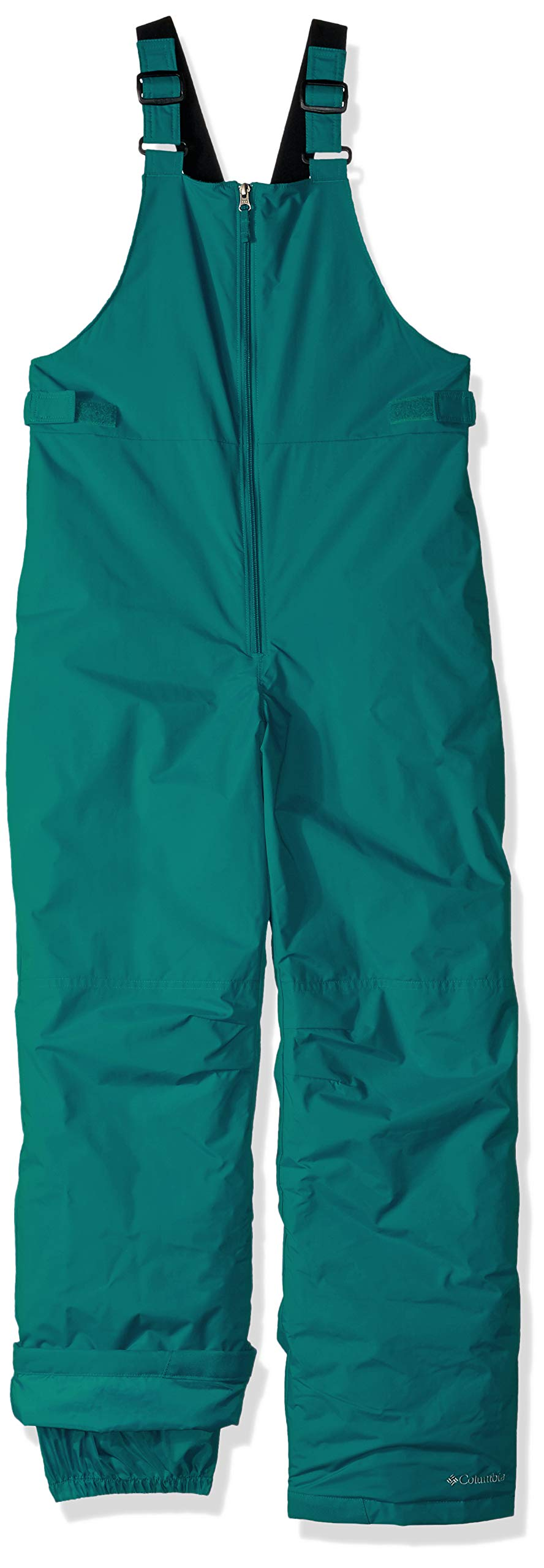 Columbia Girls' Big Snowslope II Bib, Emerald Medium