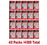 KMC 100 Card Barrier PERFECT SIZE (40 packs/Total 4000)
