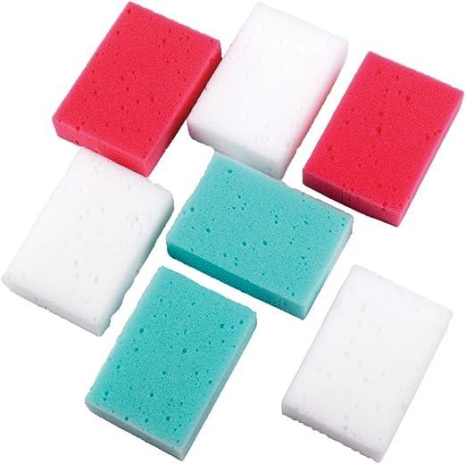 EGL Homecare Esponja de baño Coral Pack Extra Valor, 7 Piezas: Amazon.es: Productos para mascotas