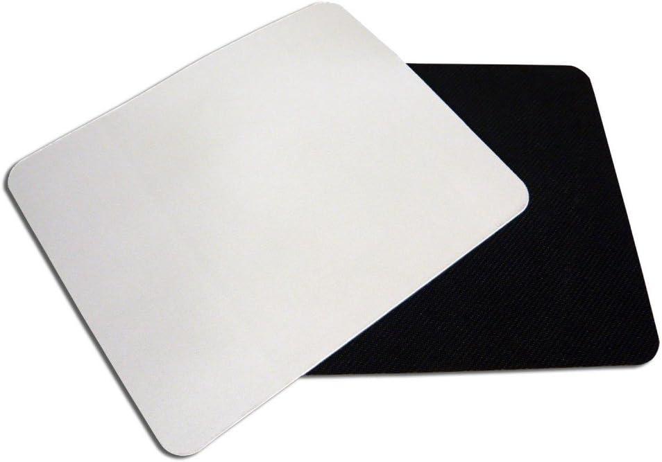 50PCS White Rectangular Sublimation Blanks Mouse Pad Heat Transfer Mouse Pad Heat Press Printing Crafts Mats 10.2x8.3x0.12