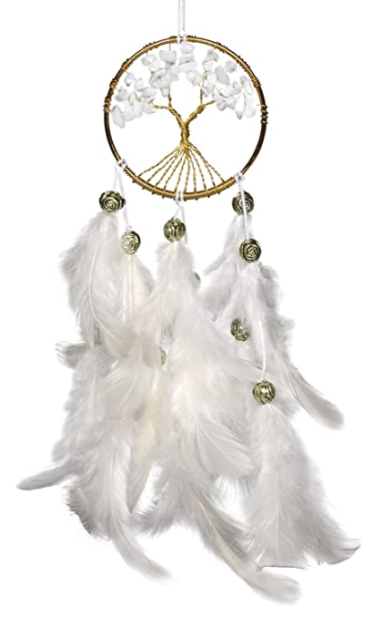 rooh Tree Handmade Hangings for Positivity (White)