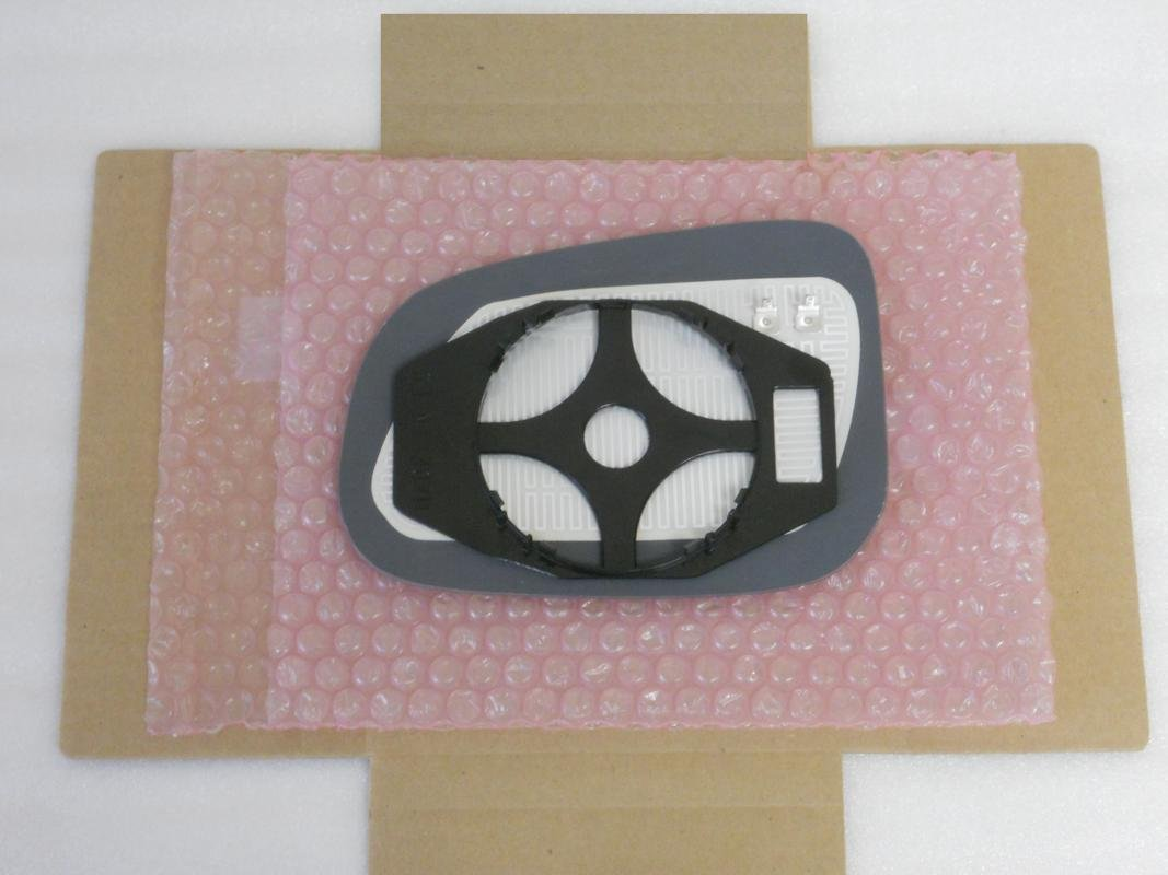 HEATED Mirror Glass with BACK PLATE for Volvo S60 S80 V60 Jaguar XF XJ XK XJ8 VANDEN Passenger Side View Right RH