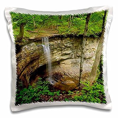 Danita Delimont - Waterfalls - Unnamed waterfall, near Louisville, Kentucky - US18 AJE0234 - Adam Jones - 16x16 inch Pillow Case (pc_90348_1)