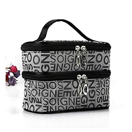 Amazon.com: AROYEL - Bolsa de viaje portátil con doble letra ...