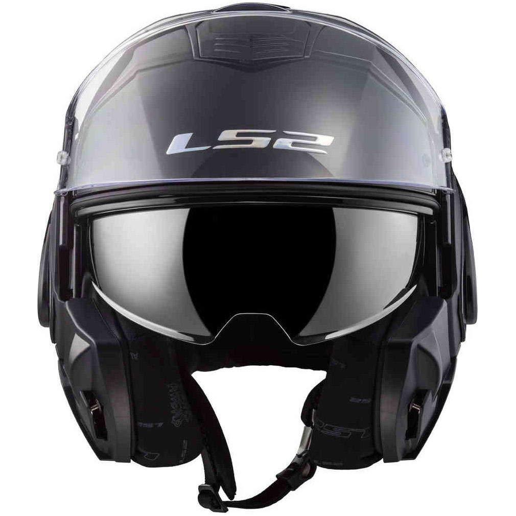 Casque moto LS2 VALIANT Noir Taille S S LS2 LS2 Noir
