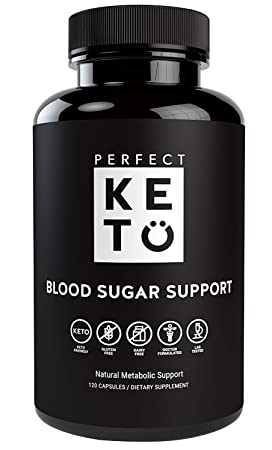 Perfect Keto Blood Sugar Support Ceylon Cinnamon Capsules Supplement Best as Glucose Level Pills. Chromium, Berberine, Bitter Melon, Vitamins Supports Healthy Heart Natural Blood Insulin Levels