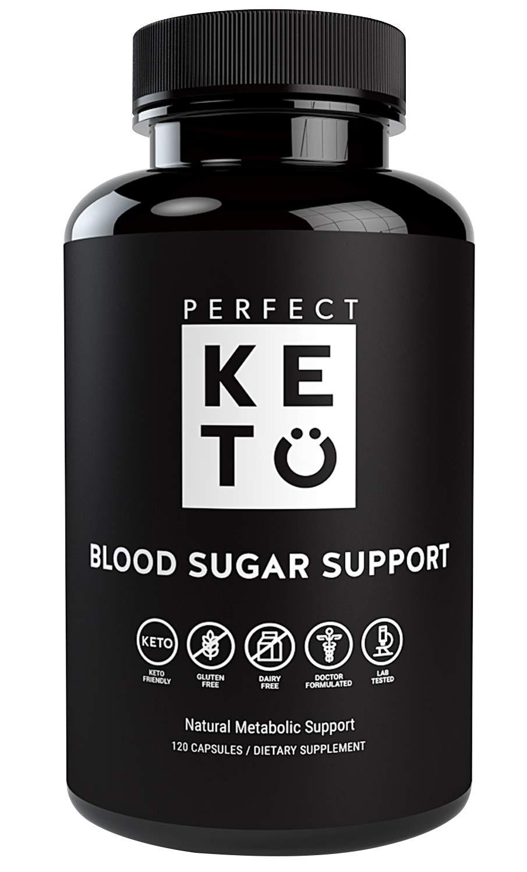 Perfect Keto Blood Sugar Support: Ceylon Cinnamon Capsules Supplement Best as Glucose Level Pills. Chromium, Berberine, Bitter Melon, Vitamins Supports Healthy Heart & Natural Blood Insulin Levels