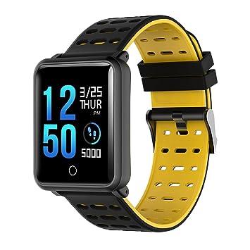 SoloKing Pulsera de Actividad Nivel Impermeable IP68 con Pantalla Táctil Ultra Clara de 1.3 Pulgadas Multifunción Reloj Smartwatch Mide La ...