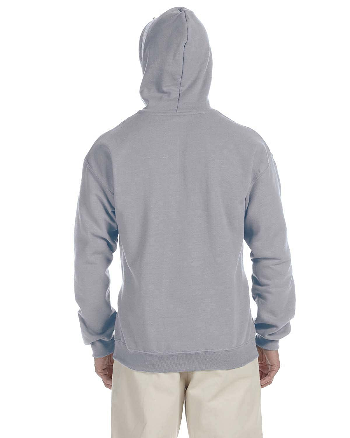 -SPORT GREY -2XL-12PK G185C Heavy Blend Contrast Hood Gildan Mens 7.75 oz