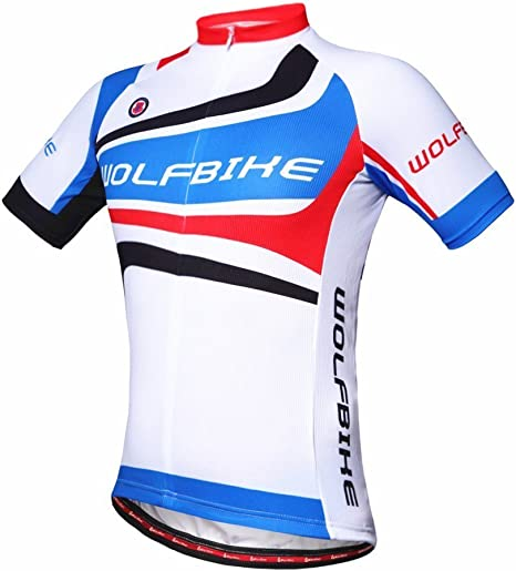 WOLFBIKE - BC414 - Traje de verano para ciclismo, con almohadilla ...