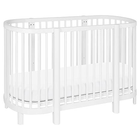 53 x 25 Babyletto Pure Core Non-Toxic Oval Crib Mattress