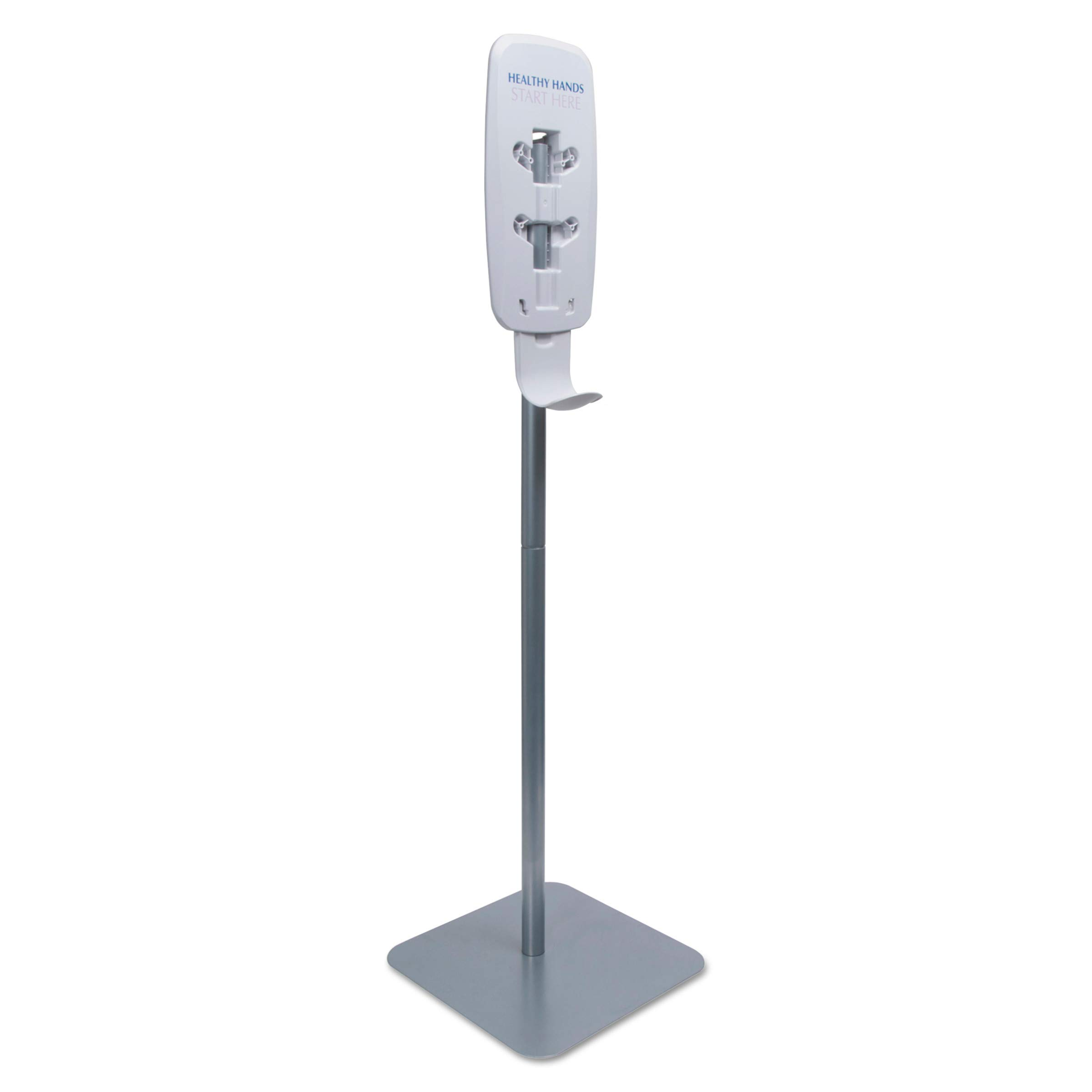 Purell Ltx Or Tfx Dispenser Floor Stand Silver Floor Stand For