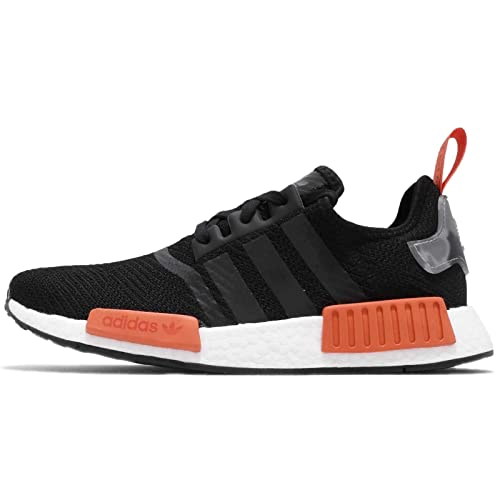 adidas Originals Baskets NMD_R1 Noir Rouge Homme: