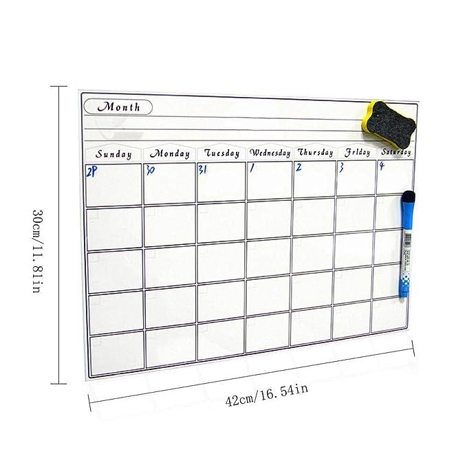 Goodevening SmartPad Calendario magnético para planificar ...