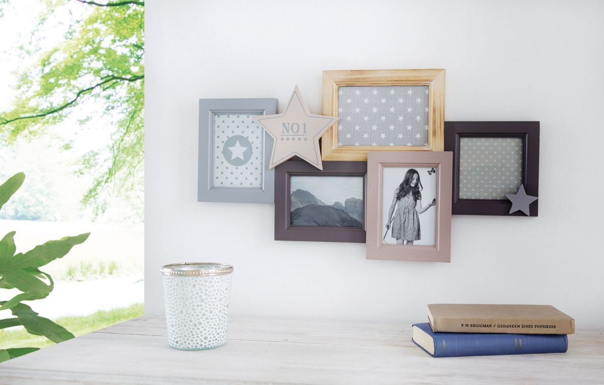 Portaretrato estrella galería de fotos para 5 fotos madera ...