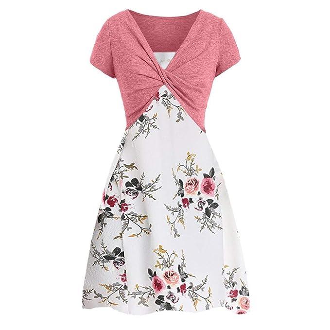 Amazon.com: TUSANG - Falda de verano para mujer, vestido de ...