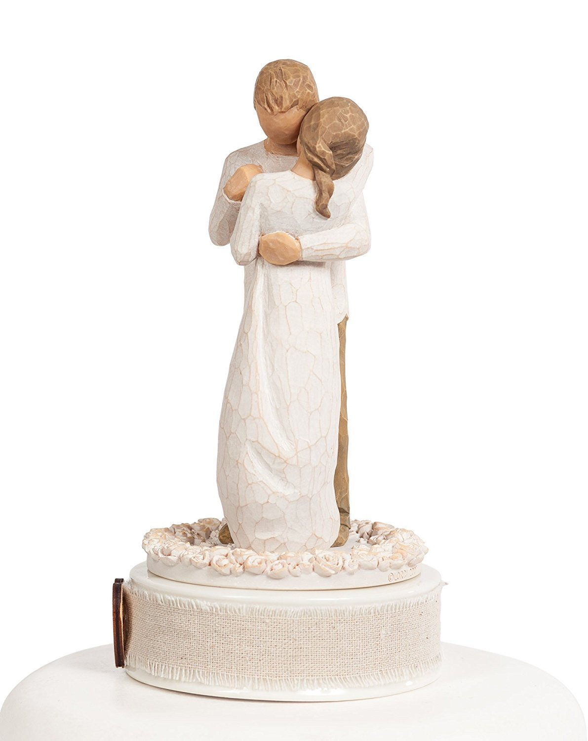 Personalized Willow Tree''Promise'' Wedding Cake Topper By Wedding Collectibles by DEMDACO - Home (Image #3)