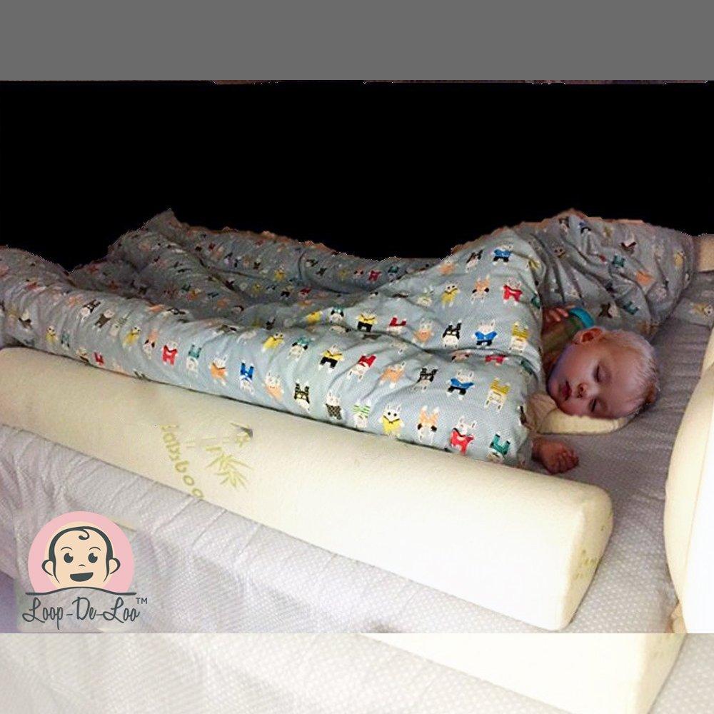 [1-Pack] Loop-De-Loo Brand™ Bamboo Toddler Sleep Bed Rail Safety Bumper Loop-De-LooTech