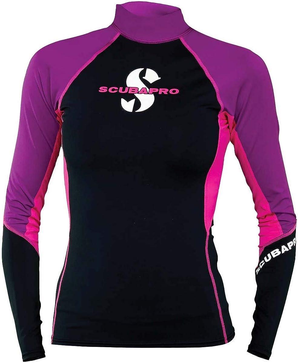 SCUBAPRO T-Flex Womens Long Sleeve Rash Guard (UPF80)