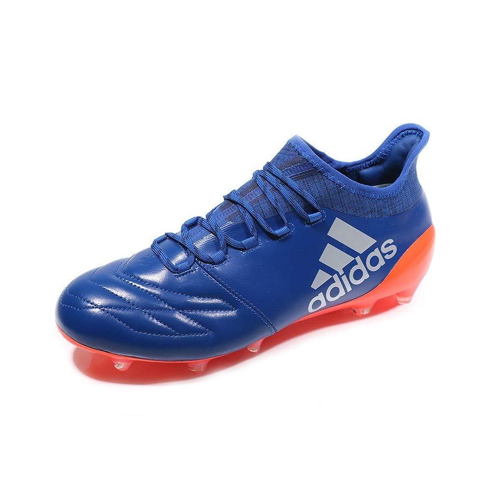 Bleu 42 EU adidas Chaussures X 16.1 FG cuir Bleu Football Homme