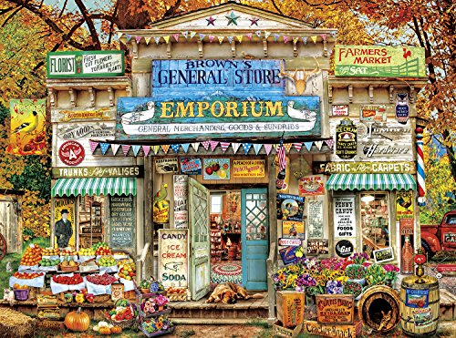 Buffalo Games - Aimee Stewart - Brown's General Store - 1000 Piece Jigsaw - Buffalo Stores In