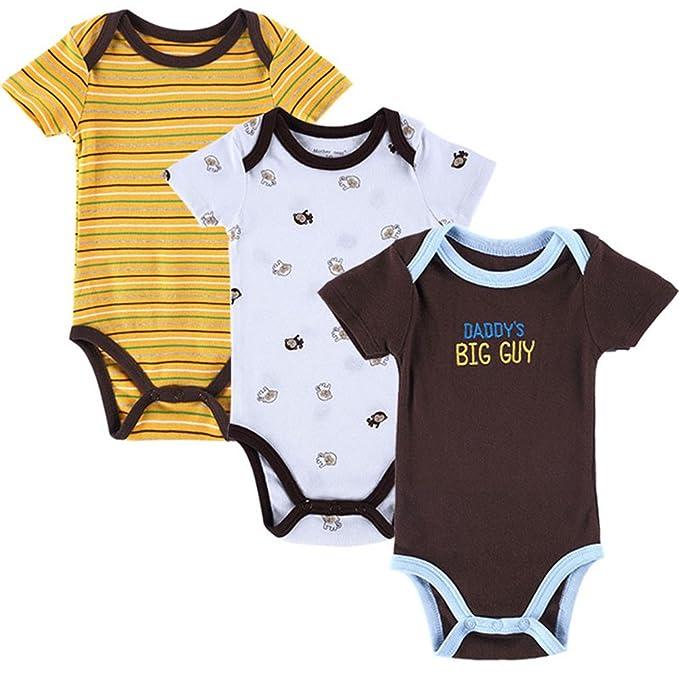 9fb08b224 Mother Nest 3 Pieces lot Fantasia Baby Bodysuit Infant Jumpsuit ...